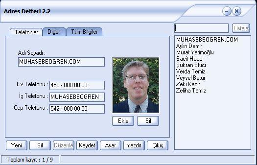 ecozum-adres-defteri-programi