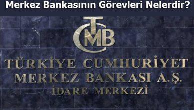 merkez bankasının görevleri nelerdir